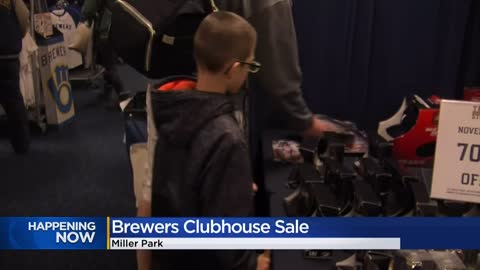 Brewers 39th annual Clubhouse Sale features discounted 'M'...